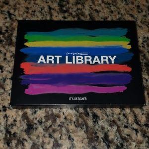 MAC Art Library Eye Shadow Palette